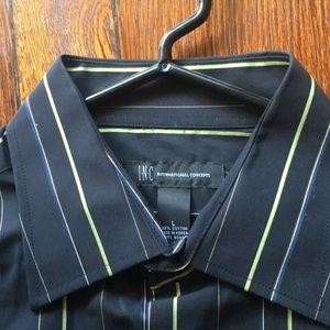 INC button up dress shirt